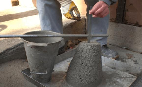 Como realizar o slump test ao receber concreto na obra?